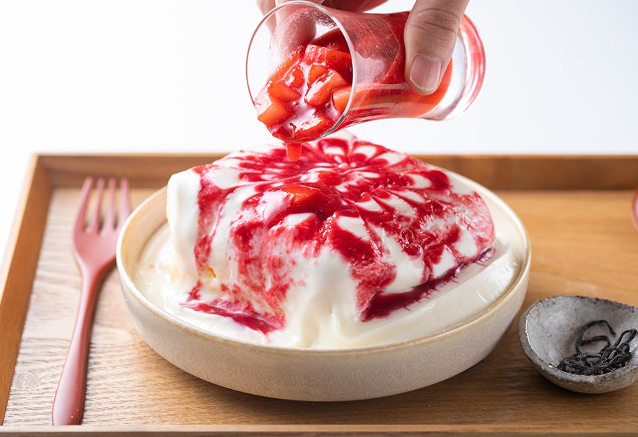いちごキンツパンケーキ
